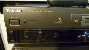 MiniDisc Technics SJ-MD100