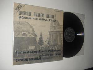 Mozart: Requiem În Re Minor, KV 626 (primul LP de clasica scos dupa revolutie de Electrecord) stare NM/NM