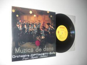 "Orchestra ""Optimiștii""-Sofia, Dirijor: B. Sakelarev: Muzica De Dans"
