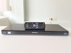 Panasonic DMP-BDT 110 3D/2D Blu-ray Disc Player Wi-Fi Ready full HD