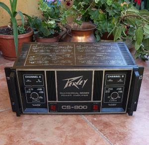 Peavey CS-800 Stereo Power Amplifier