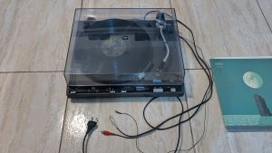 Pick-up Technics SL-231 automat doza Technics 270C ac/curea noi Japan