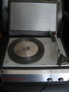 Pick-up Telefunken  Musikus 108v  portabi,l Electromures   PDEM 02