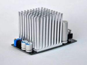 Power supplier MpAudio 12V 5A with toroidal transformer 100VA