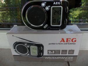 Radio AEG we4125 mini portabil,world 9 band receiver