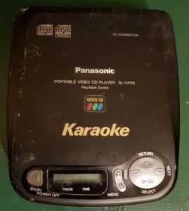 Rar, Panasonic SL-VP55 (gk-k),disc player portabil audio-video