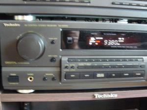 Receiver Technics Sa Gx 550