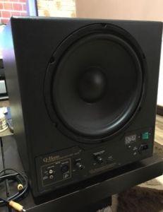 "REL Q-Bass Subwoofer ACTIV High-End Audiophil Made in ENGLAND Difuzor-30Cm/12"" 18Kg"