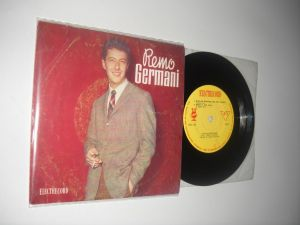 REMO GERMANI(1966)disc mic vinil Electrecord, cu 4 piese, stare VG+/NM