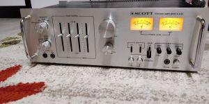 """Scott A436 """"proiect"""" amplificator stereo"""