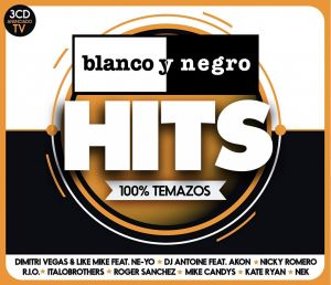 Set 3 CD originale sigilate Blanco Y Negro Hits