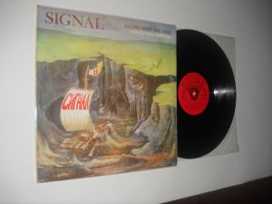SIGNAL: Sailing With The Wind (1980)vinil rock bugaresc, stare VG+/VG+