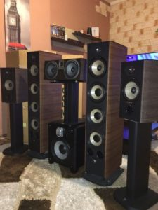 SISTEM 5.1 High-End ca Nou FOCAL Aria 1800W 120Kg Preț deMAGAZIN 5500€