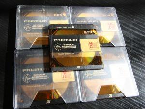 SONY 74min Premium Gold, minidisc