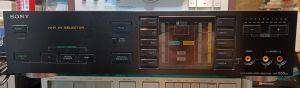 SONY AVH-555 ES, selector audio video