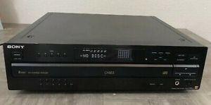 Sony cdp-ca8es, aparat multidisc din seria esprit