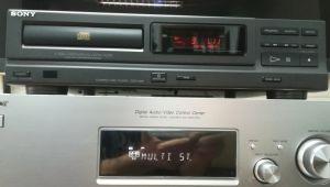 sony cdp m18 cd player dac tda 1543a