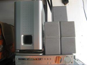 Sony DAV-SA30 sacd dvd home theater system cu boxe