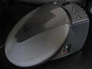 Sony dvp-pq1 PSYCH Portable picot video dvd mp3 cu telecomanda ca nou