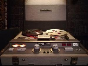 SONY TapeCorder TC-521 =PRO 2Trk/4Trk Tube Tape-Recorder