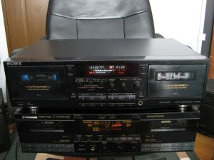 Sony TC-WR790 WR681 WE505 dublu deck autoreverse rec/play