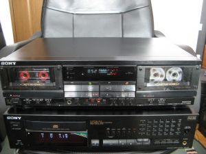 SONY TC-WR900 cap de serie dublu deck rec dolby bc