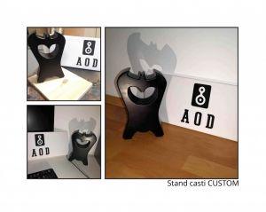 Stand stativ suport postament boxe casti incinte DIY custom MDF lemn