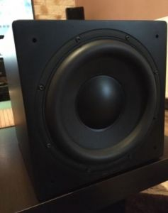 SUBWOOFER High-End BK XLS200 mk2 275W RMS 17Hz Made in UK 18kg ca NOU