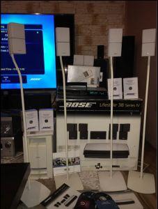 SUPER Sistem 5.1 BOSE LifeStyle 38 Serie IV HDMI 1300W Made in IRELAND