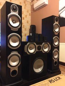 SUPER Sistem 7.1 NOU Monitor Audio RS+4Sateliți BOSE pentru DolbyATMOS