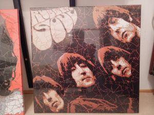Tablou The Beatles Rubber Soul