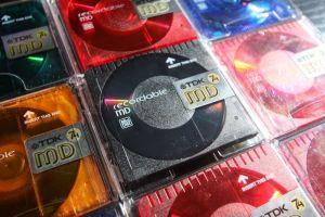TDK-74 color, minidisc