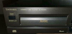 Technics compact disc player sl-pg420a