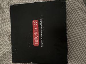 Tellurium q black power chord 1.5m