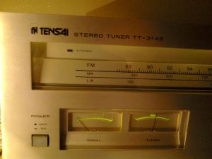 Tuner Tensai TT-3145 - radio analog de colectie