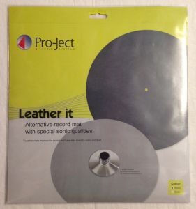 Turntable mat din piele Pro-Ject Leather it, nou