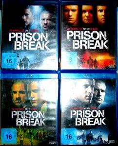 Vand blue-ray-uri cu seriale,Prison Break-24 discuri si Heroes -9 discuri