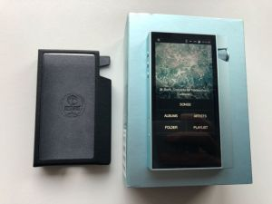 Vand player portabil Astell & Kern + husa piele originala si cutie