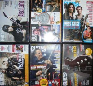 Vind 28 de DVD-uri Guitar magazine - originale !