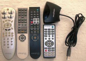 Vind Creative Labs -telecomenzi,adaptor USB-IR