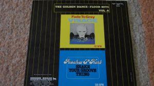 "Vinil single 12"" Visage Peaches & Herb – The Gold"
