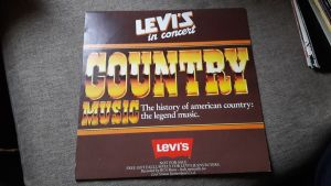 vinil Various ‎– Levi's In Concerto (Country Music)
