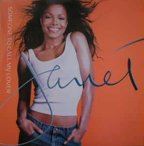 Vinyl Janet Jackson ‎– Someone To Call My Lover