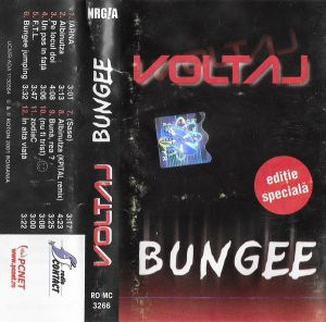 Voltaj – Bungee, caseta audio
