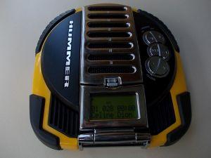 Walkman HUMMER HCD1100y,radio cd player mp3+ SENNHEISER hdc 451