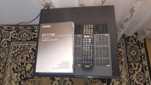 Yamaha RX-V1700 amplif. audio 130 w x7 la 8 ohm HDMI, telec + manual